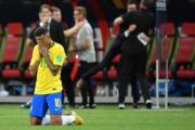 【世界盃‧8強淘汰賽:比利時2:1挫巴西】尼馬表現失落(法新社)