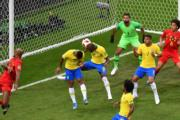 【世界盃‧8強淘汰賽】比利時2:1挫巴西(法新社)