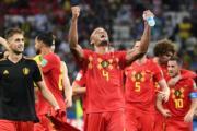 【世界盃‧8強淘汰賽:比利時2:1挫巴西】比利時晉級4強(法新社)