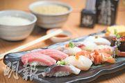 旺角日本食堂當店精米炮製「空氣」壽司