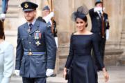 英國薩塞克斯公爵伉儷哈里王子(左)和梅根(右)(法新社)