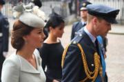 英國劍橋公爵伉儷威廉王子(右)和凱特(左)(法新社)
