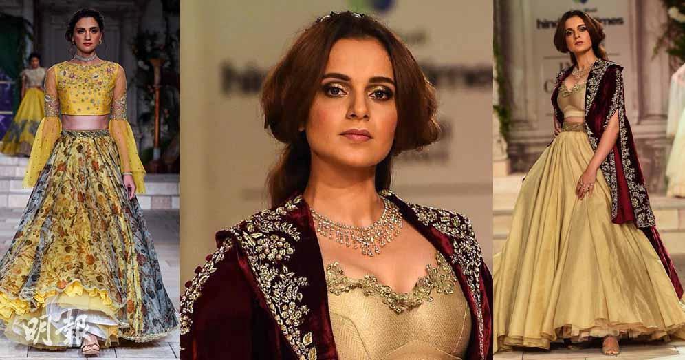 流行時尚:黃!印度時裝騷 Bollywood女星著忌廉黃紗裙嫁衣行貓騷