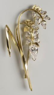 【英女王的心口針】Millet brooch製於2007年。(www.royalcollection.org.uk網站圖片)