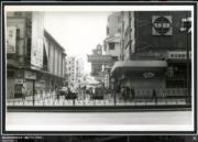 彌敦道與西貢街交界,攝於1976-1980年。(香港政府檔案處網站截圖)