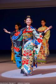 【2020東京奧運‧和服計劃】代表中國的和服 (キモノプロジェクト「イマジン・ワンワールド」facebook圖片)