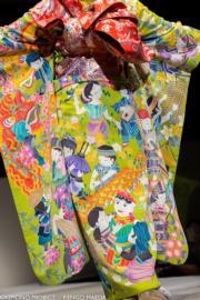 【2020東京奧運‧和服計劃】代表越南的和服(KIMONO PROJECT網站圖片)
