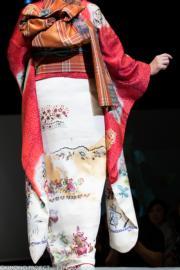 【2020東京奧運‧和服計劃】代表印尼的和服(KIMONO PROJECT網站圖片)