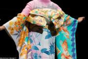 【2020東京奧運‧和服計劃】代表柬埔寨的和服(KIMONO PROJECT網站圖片)