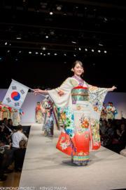 【2020東京奧運‧和服計劃】代表韓國的和服(KIMONO PROJECT網站圖片)