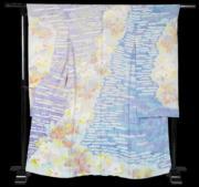 【2020東京奧運‧和服計劃】代表圖瓦魯(Tuvalu)的和服(KIMONO PROJECT網站圖片)