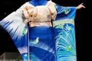 【2020東京奧運‧和服計劃】代表帕勞(又稱帛琉,Palau)的和服(KIMONO PROJECT網站圖片)
