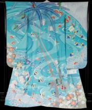 【2020東京奧運‧和服計劃】代表斐濟 (Fiji) 的和服(KIMONO PROJECT網站圖片)