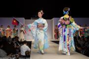 【2020東京奧運‧和服計劃】代表巴布亞新畿內亞(Papua New Guinea)(左) 的和服(KIMONO PROJECT網站圖片)