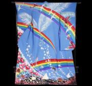 【2020東京奧運‧和服計劃】代表密克羅尼西亞(Micronesia)的和服(KIMONO PROJECT網站圖片)