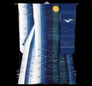 【2020東京奧運‧和服計劃】代表基里巴斯(Kiribati)的和服(KIMONO PROJECT網站圖片)