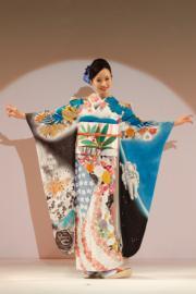 【2020東京奧運‧和服計劃】代表美國的和服(KIMONO PROJECT網站圖片)