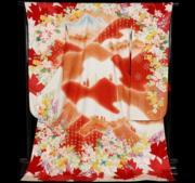【2020東京奧運‧和服計劃】代表加拿大的和服(KIMONO PROJECT網站圖片)