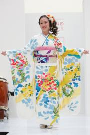 【2020東京奧運‧和服計劃】代表巴西的和服(KIMONO PROJECT網站圖片)