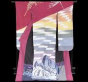 【2020東京奧運‧和服計劃】代表秘魯的和服(KIMONO PROJECT網站圖片)