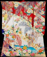 【2020東京奧運‧和服計劃】代表多明尼加 (Dominican Republic) 的和服(KIMONO PROJECT網站圖片)