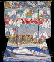 【2020東京奧運‧和服計劃】代表巴拿馬 (Panama) 的和服(KIMONO PROJECT網站圖片)