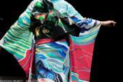 【2020東京奧運‧和服計劃】代表智利 (Chile) 的和服(KIMONO PROJECT網站圖片)