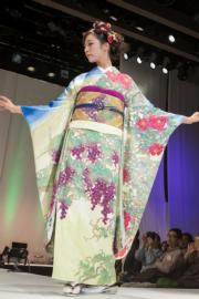 【2020東京奧運‧和服計劃】代表格魯吉亞(Georgia)的和服(KIMONO PROJECT網站圖片)