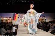 【2020東京奧運‧和服計劃】代表德國的和服(KIMONO PROJECT網站圖片)