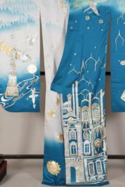【2020東京奧運‧和服計劃】代表俄羅斯的和服(KIMONO PROJECT網站圖片)