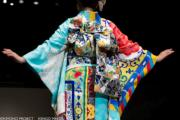 【2020東京奧運‧和服計劃】代表比利時的和服(KIMONO PROJECT網站圖片)