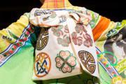 【2020東京奧運‧和服計劃】代表愛爾蘭的和服(KIMONO PROJECT網站圖片)
