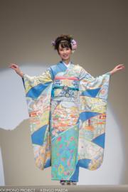 【2020東京奧運‧和服計劃】代表葡萄牙的和服(KIMONO PROJECT網站圖片)
