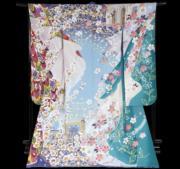【2020東京奧運‧和服計劃】代表烏茲別克的和服(KIMONO PROJECT網站圖片)