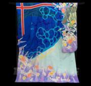 【2020東京奧運‧和服計劃】代表冰島的和服(KIMONO PROJECT網站圖片)