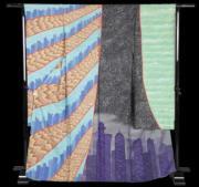 【2020東京奧運‧和服計劃】代表卡塔爾(Qatar)的和服(KIMONO PROJECT網站圖片)