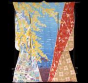 【2020東京奧運‧和服計劃】代表突尼西亞 (Tunisia) 的和服(KIMONO PROJECT網站圖片)