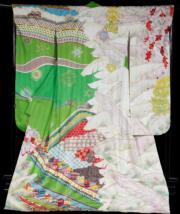 【2020東京奧運‧和服計劃】代表海地 (Haiti) 的和服(KIMONO PROJECT網站圖片)