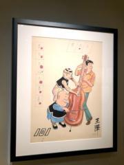 【老夫子AND蘇富比】老王澤(王家禧)《提琴合奏》(1973年)(葉詠珩攝)