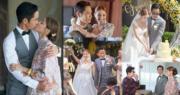 鄭嘉穎與陳凱琳拍拖三年多,終於修成正果,8月12日在峇里舉行浪漫婚禮﹗(明報製圖)
