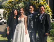 黎耀祥夫婦也是婚禮的座上客。(大會提供)