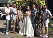 鄭嘉穎10年前拍攝《鐵馬尋橋》跟馬國明、唐詩詠、林子善、黃嘉樂成為好朋友。今日他結婚,當然會邀請他們出席婚禮。(大會提供)