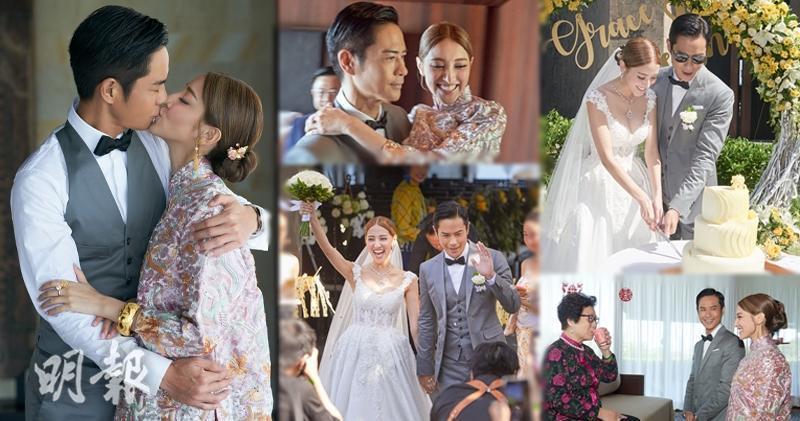 【拍拖三年修成正果】鄭嘉穎陳凱琳峇里島的浪漫婚禮