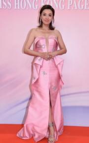 陳煒雖然已44歲,依然非常靚女。(鍾偉茵、孫華中攝)