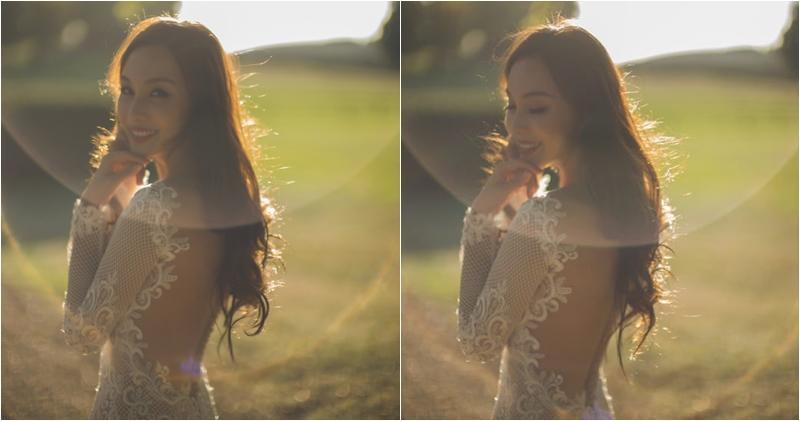 【索爆人妻】朱璇露背婚紗騷身材 網民大讚:索到爆 (13:42)