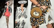【米蘭時裝周】2018年9月20日,Moschino在米蘭時裝周展示2019年春夏系列。(法新社)