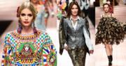 【米蘭時裝周】2018年9月23日,Dolce & Gabbana在米蘭時裝周展示2019年春夏系列。(法新社)