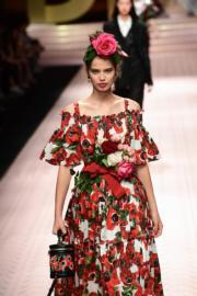 【米蘭時裝周】Dolce & Gabbana 2019年春夏系列(法新社)