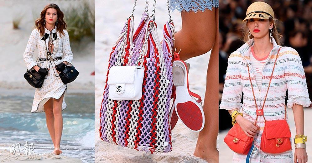 【巴黎時裝周】Chanel 2019春夏袋款