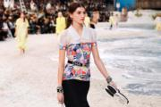 【巴黎時裝周】Chanel 2019年春夏系列(法新社)